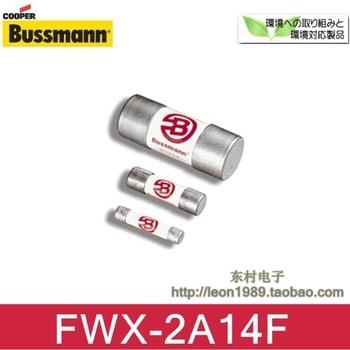 Cooper Bussmann ceramic fuse FWX-2A14F 2A 250V 14 \u0026 times; 51mm