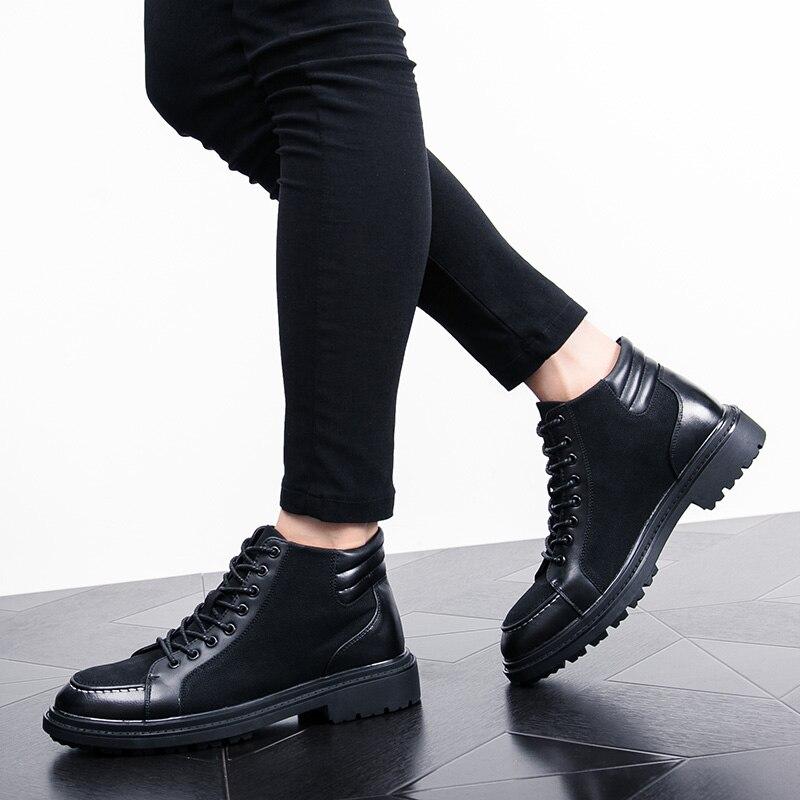 italian cool unique men motorcycle boots shoes luxury brand men's leather high top dress moccasins designer oxford shoes for men (31)