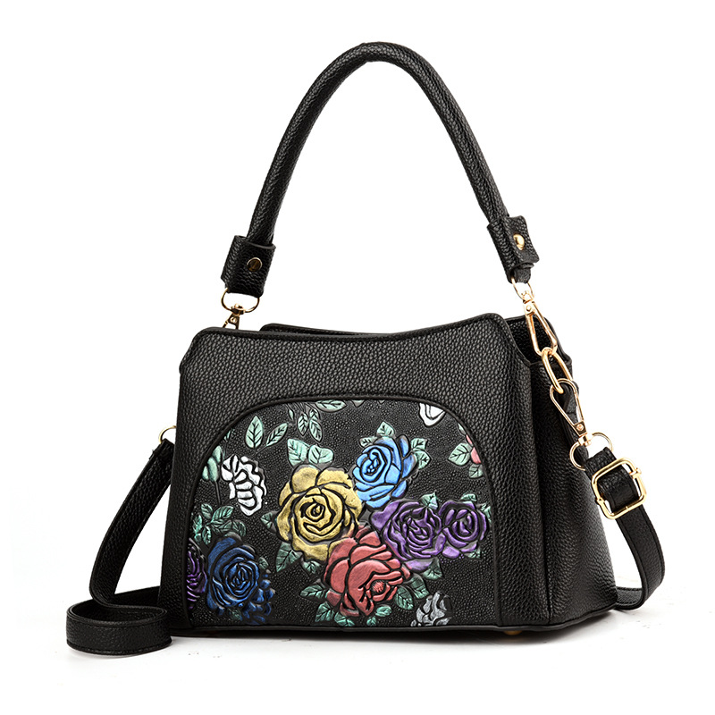 Middle-aged Ladies and Mother Bags 2018 New Old-fashioned High-end Atmosphere Wild Womens Messenger Bag