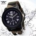 AMST Canvas Quartz Wrist Watch Men Clock Famous Top Brand Luxury Military Watches Sport Quartz-Watch Relogio Masculino Hodinky