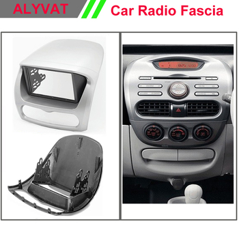 Car DVD CD Radio Fascia for CITROEN C-Zero / PEUGEOT /MITSUBISHI i MiEV Stereo facia surround install trim fit Dash Kit 2009 +