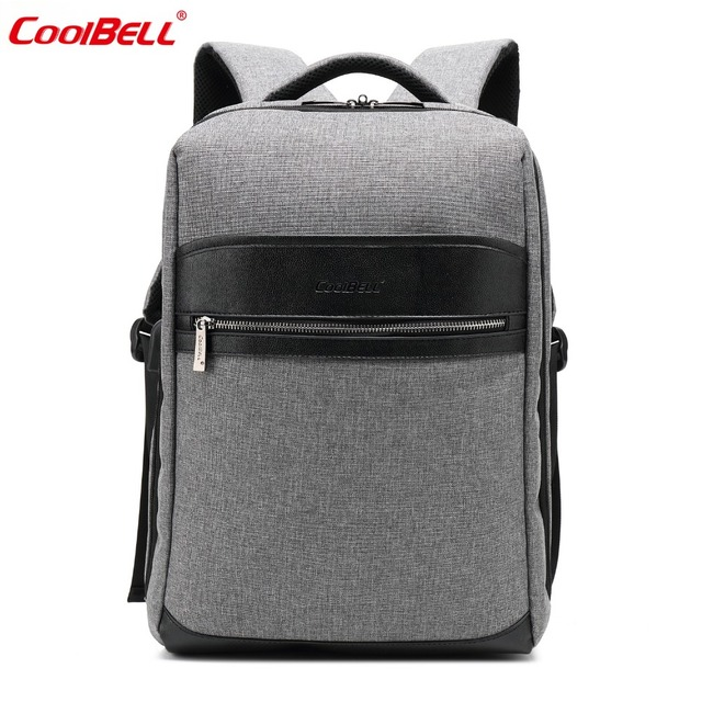 5854fa04b CoolBELL 15.6 Inch Backpack With USB Charging Port /Multicompartment Laptop  Bag Travel Rucksack /Protective Day Pack For Men