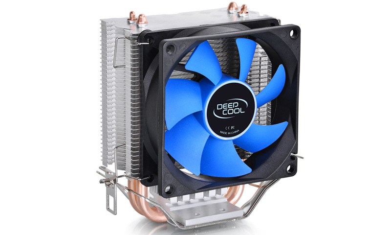 Single Fan CPU Quiet Cooler Heatsink For Intel LGA775/1156 AMD jetting new dual fan cpu quiet cooler heatsink for intel lga775 1156 amd 95w spca