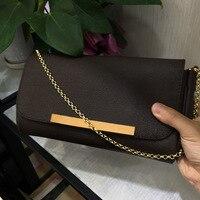Бесплатная DHL Одежда высшего качества Любимая сумочка Для женщин Элитный бренд сумка Мода вензель мешки из натуральной кожи холст сумка