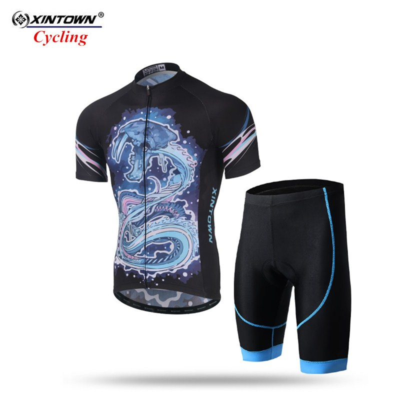 XINTOWN short cycling jersey set bretelle ciclismo man 2018 roupas ciclismo bicycle clothing maillot cyclisme homme equipe