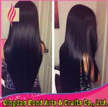 Best selling brazilian virgin human hair front lace wigs straight glueless full lace wigs 130%density for black women