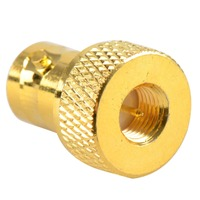 Hot Sale New Adapter BNC Female Jack To SMA Male Plug RF Connector Straight Gold Plating Brass VC527 P25