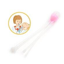 Очиститель носа новорожденных для младенцев, безопасная очиститель носа, вакуумный отсасывающий носовой аспиратор, носовые сопли, очиститель носа, уход за ребенком