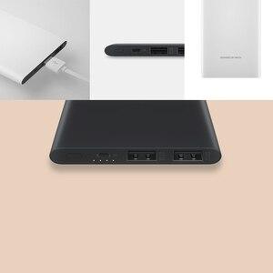Image 5 - الأصلي Meizu 10000mAh قوة البنك 3 الخارجية ليثيوم أيون بوليمر بطارية 2 USB شحن سريع Powerbank ل Xiao mi mi آيفون X