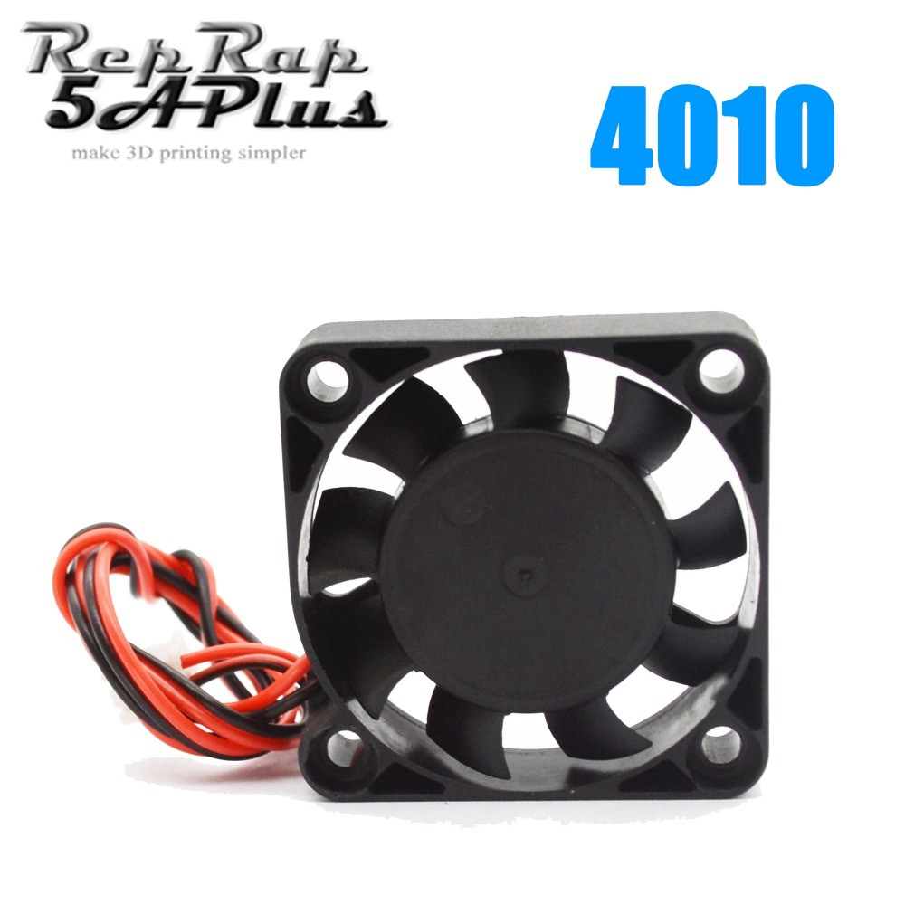 цена 1PC 4010 Cooling Fan 40mm x 40mm x 10mm DC 24V 2 Wire Cooling Fan For 3D Printer J-head Hotend Wholesale