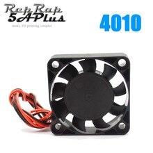 1 PC 4010 soğutma Fan 40mm x 40mm x 10mm DC 24 V 2 tel soğutma fanı 3D yazıcı J-kafa Hotend için toptan