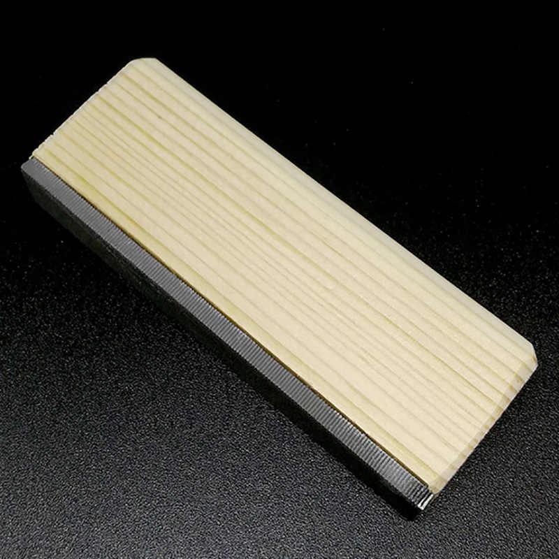 Guitarra traste corona Luthier archivo americano duro Arce hierro estrecho doble filo herramienta herramientas profesionales