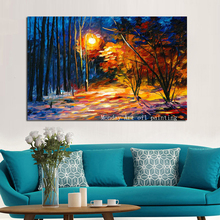 Big Size whosale Hand Painted Tree Picture Oil Painting on Canvas Modern Abstract Wall Art For Living Room hotel decora