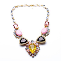 New Arrival Brass Chain Qingdao Factory Hot Sale Wholesale Luxury Statement Necklace
