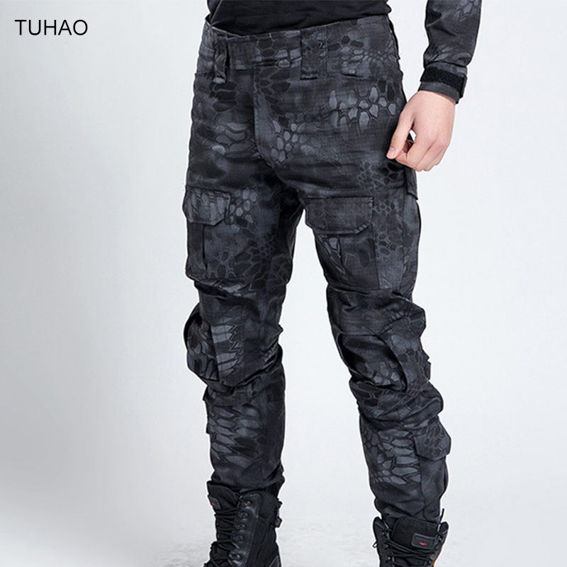 ФОТО Camouflage G3 Frog Trousers Waterproof Plus Size Outdoor Hiking Hunting Tactical Military Pants Men FROGG3P