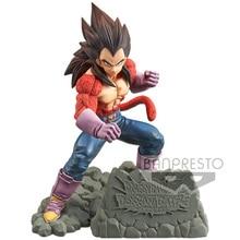 Tronzo oryginalny Banpresto figurka Dragon Ball GT Dokkan bitwa Vegeta SSJ4 pcv rysunek model kolekcjonerski Vegeta figurki