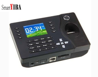 SmartYIBA Biometric Fingerprint Attendance Machine 2.4Inch TFT Finger Scanner ID Card Time Clocker TCP/IP Employee Recorder
