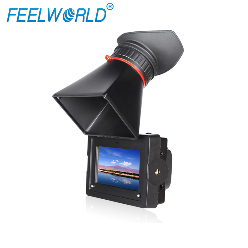 Feelworld E350 3.5 Inch Electronic View Finder with HDMI Input and Output FEELWORLD EVF Camera External LCD Viwefinders