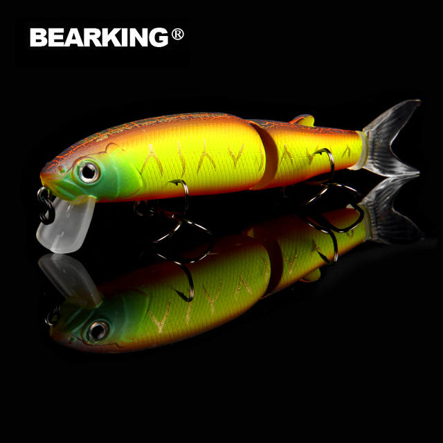 Bearking Professional Jointed Fishing Lure For Saltwater and Freshwater 6