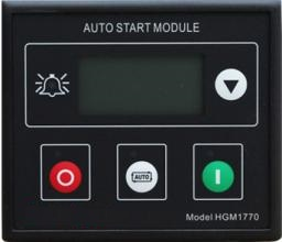 Free Shipping HGM1770 controller generator controller Start and Stop Function fast shipping 6 pins 5kw ats three phase 220v 380v gasoline generator controller automatic starting auto start stop function