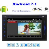 Eincar Draadloze Camera + 8 core Android 7.1 Dubbel Din GPS Auto Stereo Naviagtion Autoradio Bluetooth WIFI Radio FM/AM RDS Recevier