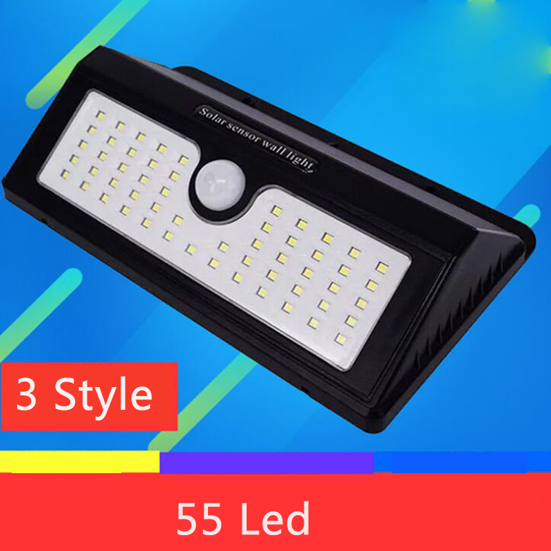 Garden Solar Light/Lamp For Garden DecorationSolar Powered/Lamp Outdoor Waterproof/Solar Led Lights Outdoor Lighting 55 LED luminaria luz led solar garden light lamp with 40 lights solar powered led wall light outdoor lighting free shipping