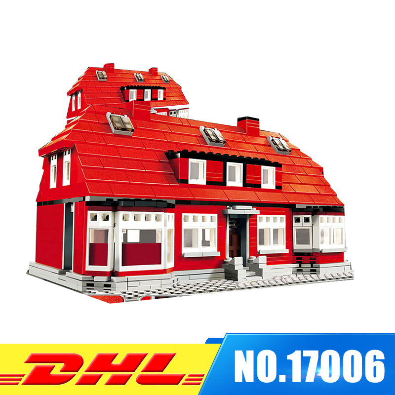 Lepin 17006 910Pcs Serier The Red House Set 4000007 Education Building Kits Blocks Bricks Model Children Funny Toys Gift lego education 9689 простые механизмы