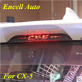 Car-Styling Carbon Fiber Cx5 Brake Light Sticker Case For Mazda Cx-5 Car Accessories For Cx 5 Stickers 2012 2013 2014 2015 FS