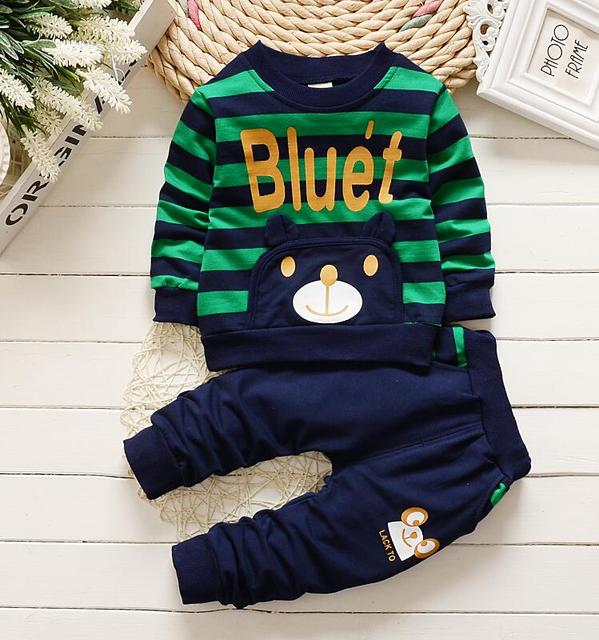 New 2017,Baby boy clothes,Spring Autumn,Baby wear,Kids boy clothes,sport suit, long sleeve t-shirt+pants 2pcs set,For 1-4Year