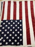 침대에 영국 미국 국기 플란넬 담요 더블 레이어 짙은 침대 담요 소파 담요 촉감 편안 던지기 담요