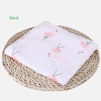100% Cotton Baby muslin blankets Swaddles Newborn Blankets ins Gauze infant wrap sleepsack swaddleme bath towel