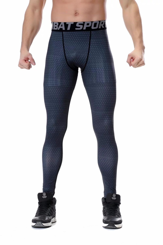 2017 Compression Tights Men Fitness Fitness Strumpfhosen Vier Jahreszeiten Fitness Männer Hosen