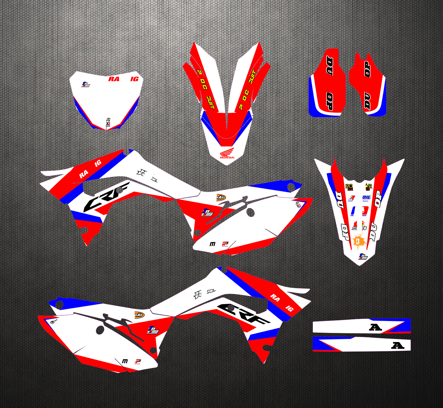 Cheap and beautiful product honda crf450r stickers in BNS Store
