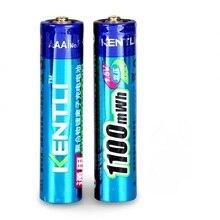2 шт 1,5 v 1100mWh AAA литий-полимерные аккумуляторы