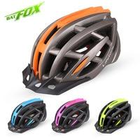 BATFOX New Unisex Anti Uv Cycling Helmet Ultralight Integrally Molded MTB Road Bicycle Bike Safety Helmet