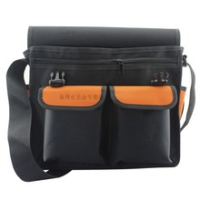 Free shipping multifunction pockets Kit telecommunications electrician thicken Oxford cloth bag backpack Tool bag 61024