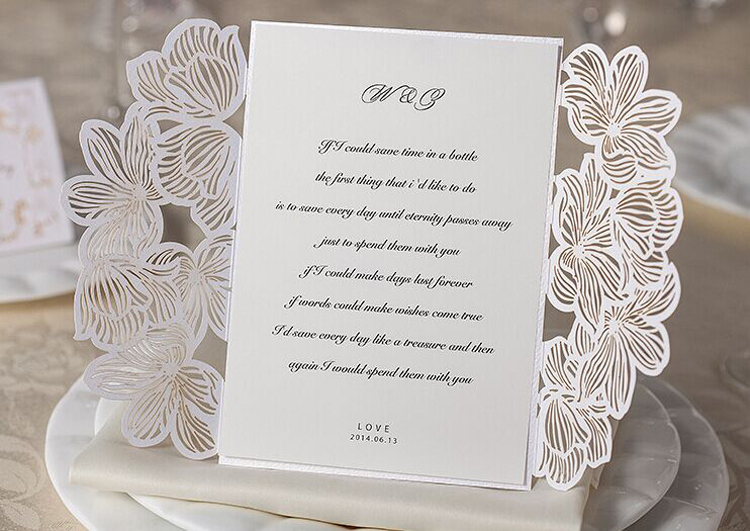 tienda online tarjetas de invitacin florales de la boda para imprimir de boda del corte del with como hacer tarjetas de invitacion para bodas