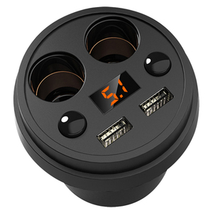 Cup-shaped Car Charger Multifu
