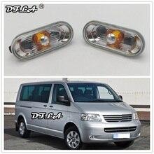 2 шт. для VW Transporter T5 Multivan 2003 2004 2005 2006 2007 2008 2009 Автомобиль-Стайлинг сбоку Маркер поворотов свет лампы повторителя