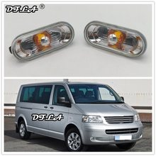 2pcs For VW Transporter T5 Multivan 2003 2004 2005 2006 2007 2008 2009 Car-Styling Side Marker Turn Signal Light Lamp Repeater(China)