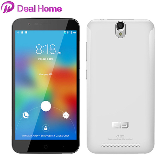 "Original Elephone P4000 4G LTE Mobile Phone 5.0"" HD 1280x720 MTK6735 Quad Core 13.0MP Camera 4400mah Android 5.1 2G RAM 16G ROM"