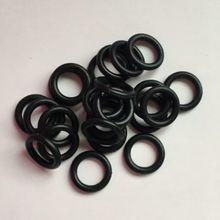 """100 шт 1/"""" черная резиновая силиконовая прокладка 9,5*14,3 мм уплотнительное кольцо маслостойкий RO фильтр для воды фитинг для водопроводной трубы наружная резьба"""