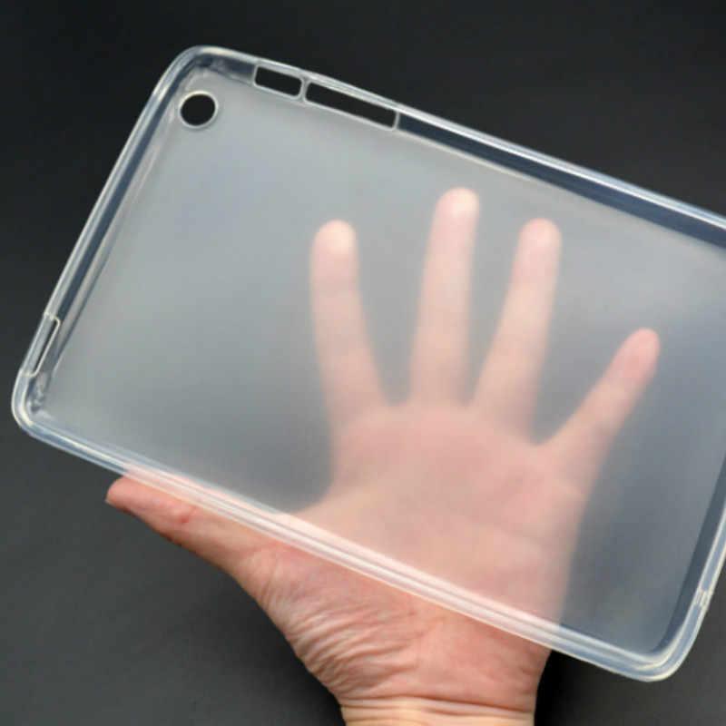 "Kılıf için 7 ""Lenovo Tab 2 A7-20F Tab2 A7 20 A7-20 Tablet kapak temizle şeffaf kılıf yumuşak TPU arka lenovo Tab2 A7-20"