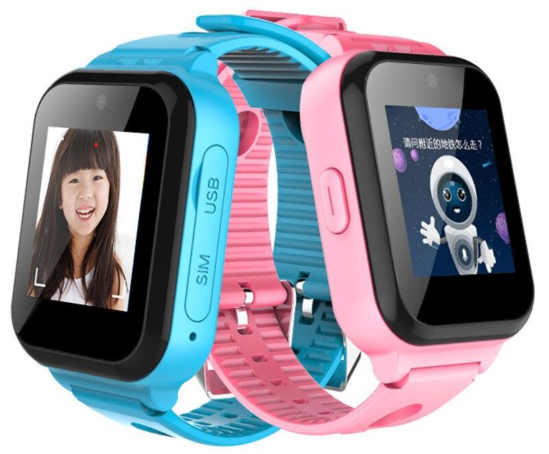 Новейший 4G умные часы детский безопасный монитор gps трекер дети Android IOS водостойкий детский SOS удаленный монитор камера наручные часы с SIM