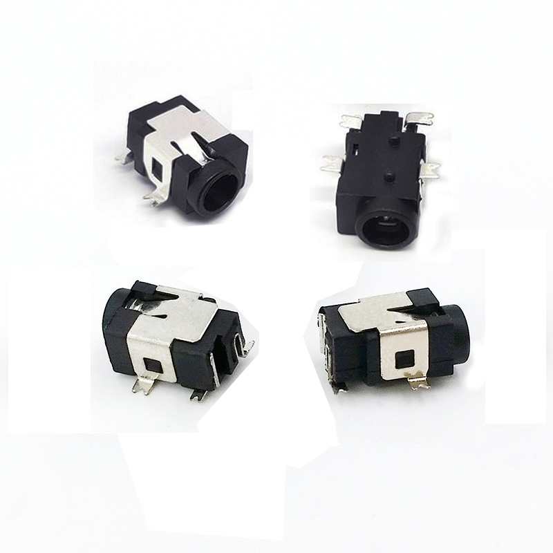 100pcs/lot DC-031A Power Outlet DC Socket SMD Switch Socket Pin 1.0mm 1.3mm