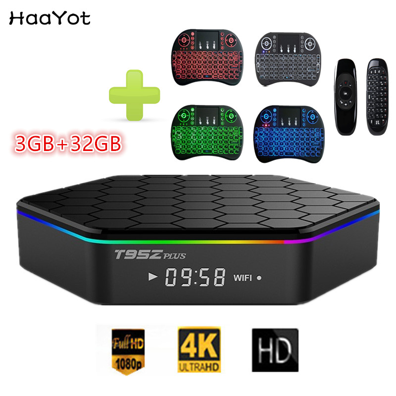 HAAYOT T95Z Plus Amlogic S912 3GB 32GB Octa core TV Box 2 4G 5G WIFI Bluetooth