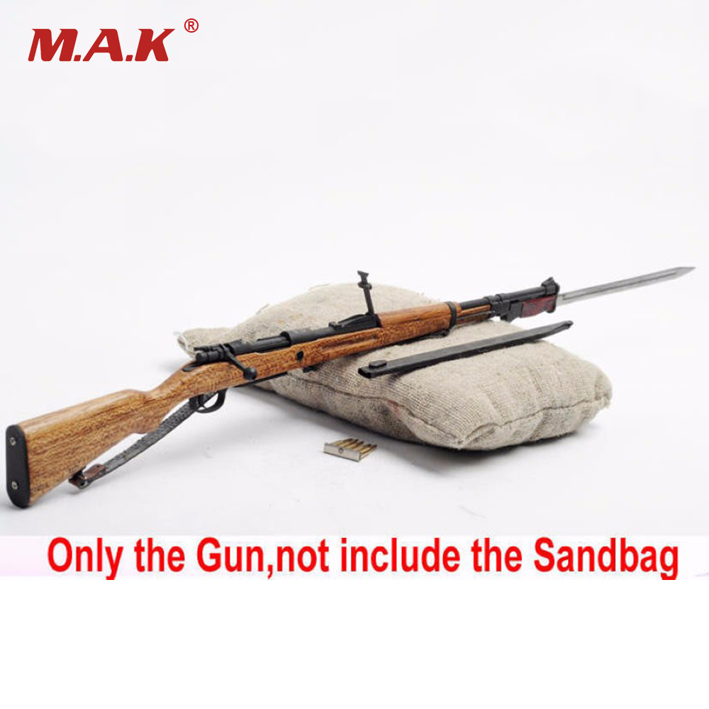 NEW STYLE 1/6 Scale Rifle Gun Weapns Model Toys Chiang Kai-shek Metal Rifle Gun Bayonet Bullets Model F 12 Action Figure Body 1 6 scale light machine weapons model wwii german maschinengewehr 34 gun model toys for 12 action figure body accessory
