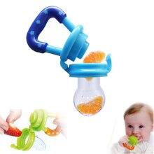 New Kids Nipple Fresh Food Milk Nibbler Feeder Feeding Safe Baby Supplies Nipple Teat Pacifier Bottles
