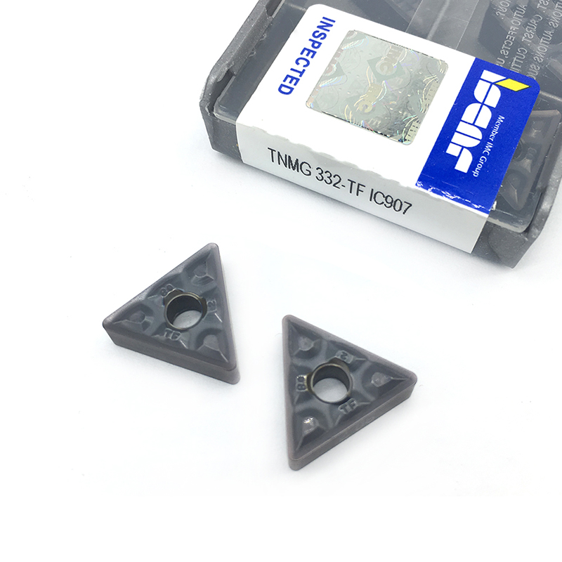 10Pcs ISCAR TNMG332-TF IC907 TNMG160408-TF IC907 carbide inserts