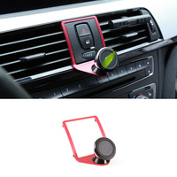 3 Colours Mobile Phone Holder Trim For BMW 3 4 Series GT F30 F30 F34 F32 F33 F36 2013 2019 Accessories